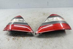 2007-2009 Mercedes S550 W221 Rear Left & Right Side Tail Light Lamp Brake Set