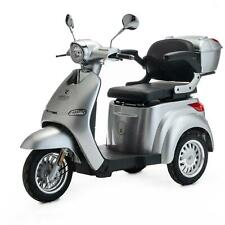 3 Wheeled ELECTRIC MOBILITY SCOOTER 1000W VELECO CRISTAL SILVER