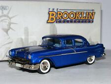 Brooklin BRK137 1956 Pontiac Chieftain 860 Sedan Chesapeake Azul 1/43