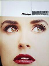 Mint Mamiya KL 180mm F4.5 lens brochure for RB PRO-SD/RZ 6x7 MF camera