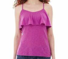 Decree women/'s tank crop top size XS Purple NWT $28