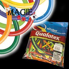 100 Ballons Qualatex CARNIVAL 260Q - Magie - sac sculpture carnaval
