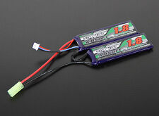 Turnigy Lipo Nano-Tech 2S 1800mAh 20-40C AirSoft Battery                   17293