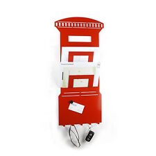 Magnetic Postbox Memo Board Letter Rack and Key Holder by THE METAL HOUSE