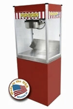 COMMERCIAL 14 OZ POPCORN MACHINE THEATER POPPER STAND PARAGON CLASSIC POP CLP-14
