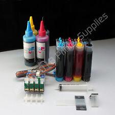 CISS CIS  & extra Set Ink for Epson  CX7400 CX7450