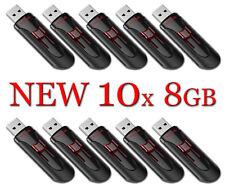 LOT 10x SanDisk Cruzer Glide 8GB USB Flash Drive SDCZ600-008G USB 3.0 Fast 8 GB