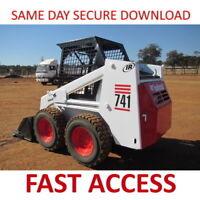 Bobcat 741 Loader Service Manual - FAST ACCESS