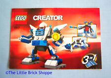 Lego Creator 4917 Mini Robots 3 in 1 - INSTRUCTION BOOK ONLY - No Lego bricks