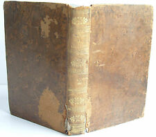 1824 CHEFS D'OEUVRE DRAMATIQUES DE VOLTAIRE TOME SECOND leather binding FRENCH