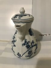 """Blue Danube Coffee Pot and Lid Size 7"""" 4-Cup Teapot Coffee Server Rectangle Mark"""