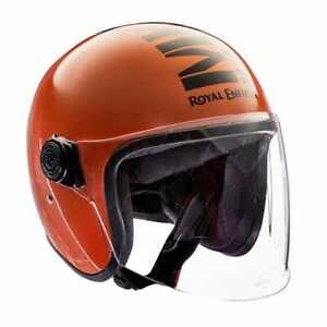 Royal Enfield Mlg Long Visor - Gloss Orange