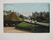1904 Boscombe Postcard - Sea Road - Hampshire