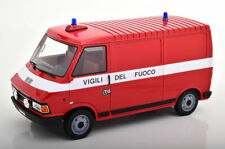 LAUDORACING Fiat 242 MK2 Kastenwagen fire engine 1984 LE of 150 1/18 Scale New!