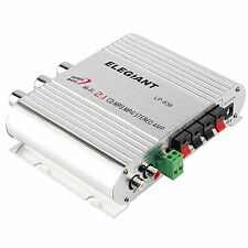 ELEGIANT Mini 200W 12V Hi-Fi Car Stereo Amplifier Power Channel Audio Heavy B...