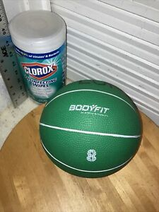 8 LB Body Fit Medicine Ball by Sports Authority Green Basketball Style 🇺🇸