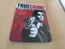 True Crime: Streets of LA (PS2) Limited Edition Tin Case steel case pal