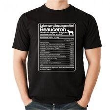 T-Shirt Unisex DOSIS BEAUCERON Lebensergänzungsmittel Männer Hund Hunde belgien