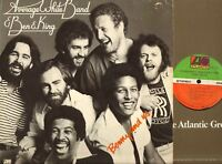 AVERAGE WHITE BAND & BEN E KING benny and us (usa 1977) LP EX+/VG+ SD 19105 soul