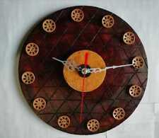 From Sri Lanka Handmade Wood Wall Home Décor Watch