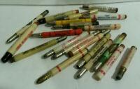 Livestock Farm Tobacco Louisville KY HUGE lot 20 bullet pencil vintage