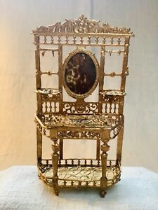 Antique Dollhouse German Metal Furniture