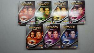 Star Trek Voyager Slime-line edition Series 1-7