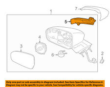 FORD OEM Fusion Door Side Rear View Mirror-Turn Signal Lens Left DS7Z13B375A