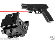 Pistol Low Profile Compact Red Laser Sight, Picatinny 1911 M&P