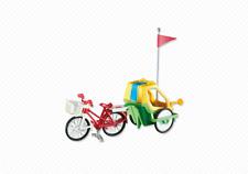 YRTS 6388 Playmobil Bicicleta con Remolque para Niños ¡Nuevo en Bolsa! ¡New!