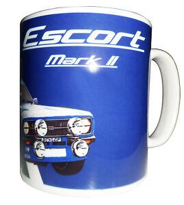 Ford Escort RS Mark ll Rally Car Gift Mug