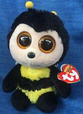 W-F-L TY Beanie Boos Buzby Bee 15 cm Googley Boo's