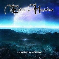 EXILE OF HEAVEN-Illusion of Randomity CD Iced Earth, Jag Panzer, Blind Guardian