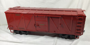Buddy L OUTDOOR RAILROAD Red Boxcar # 12457 T-REPRODUCTIONS Train Set