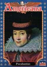 Pocahantas, Indian Princess --- Historic Americana Trading Card --- NOT Postcard