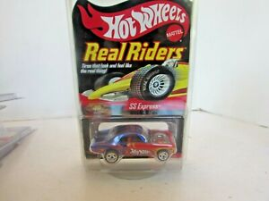 MATTEL 8698 HOT WHEELS REAL RIDERS RED LINE SS EXPRESS 22ND CONVENTION LA LotD