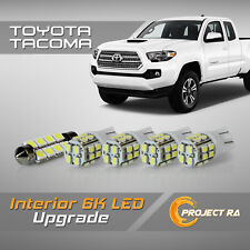 05-15 Toyota Tacoma - Complete Interior LED Bulb + License Plate Package - White