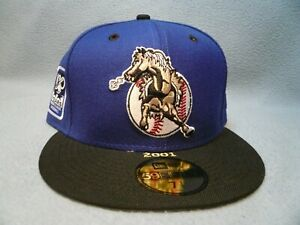 New Era 59fifty San Bernardino Stampede 100th Anniv. Patch NEW Fitted cap hat