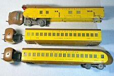 Lionel Prewar O Gauge Union Pacific 751E Streamliner Trains 752E 753 754
