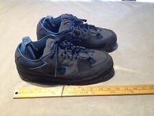 AIRWALK Men's Suede Skate Casual Sneaker Shoes US 11.5 Black/Blue