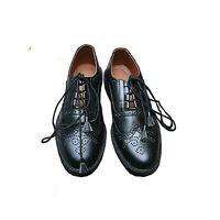 Ghillie Brogues Scottish Kilt Shoes Ghillie Brogues Leather UK Sizes 7-12