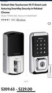 Kwikset Halo Touchscreen Wi-Fi Enabled Smart Lock - Satin Nickel