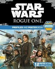 Star Wars Rogue One: Profiles Poster Book 40 Stickers 12 Posters Giant Fold-Out