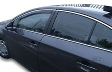 Toyota Avensis 2009 - up Front wind deflectors  2pc set TINTED HEKO