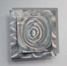 Metal Abstract Modern Silver Wall Art Sculpture Prizm 4  By Jon Allen