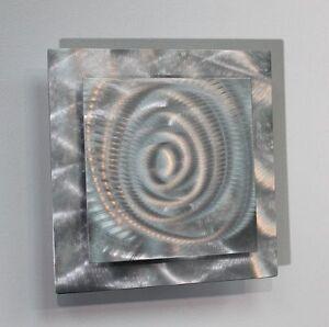 Statements2000 3D Metal Wall Art Silver Modern Accent Sculpture Decor Jon Allen