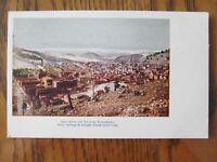 Vintage Postcard City of Victor Colorado Springs Cripple Creek Short Line Mining