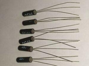 OC44 HFE 80/120       Lot de 6 pieces T   transistor Germanium Philips  (Fuzz)