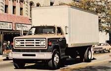 GMC Truck 1981 Diesel Powered Car Vehicle Auto Vintage Postcard K70902