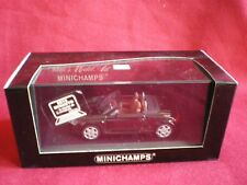 AUDI TT Roadster 1999 MINICHAMPS- 1/43em